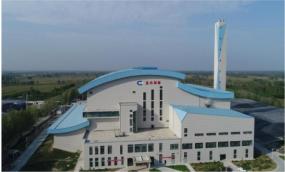 山东郓城圣元环保垃圾焚烧项目陈腐垃圾治理现场