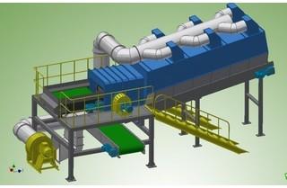 填埋垃圾分类处理设备的优点及工作流程